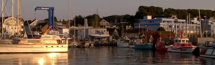 Hafen Laboe - Start zum Hochseeangeln in den Angelferien